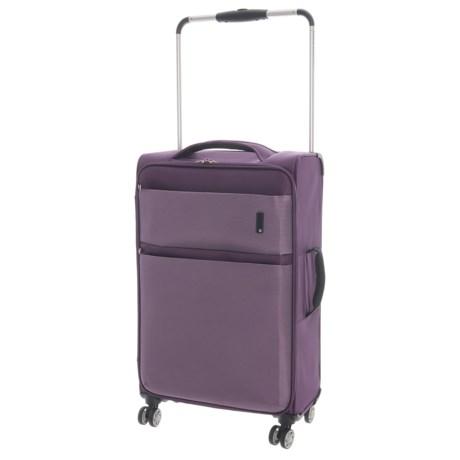 "IT Luggage World's Lightest Debonair Spinner Suitcase - Softside, 21.5"""