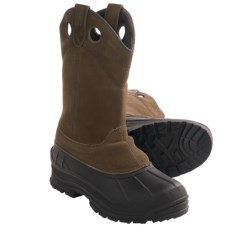 Itasca Adak Winter Pac Boots - Insulated (For Men) in Brown
