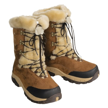 Itasca Anastasia Snow Boots (For Women) in Tan