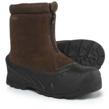 Itasca Brunswick Winter Pac Boots - Insulated (For Men) in Br0wn - Closeouts