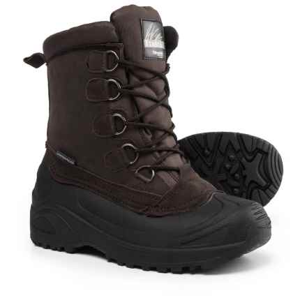 Itasca Cedar Extreme Pac Boots - Waterproof, Insulated (For Men) in Brown - Closeouts