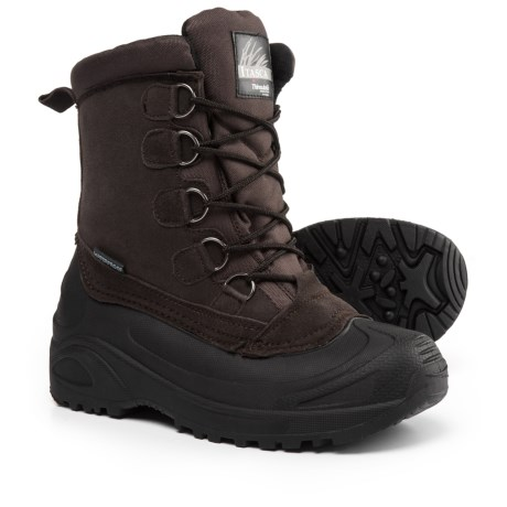Itasca Cedar Extreme Pac Boots - Waterproof, Insulated (For Men) in Brown