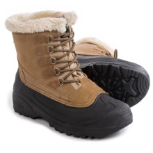 Itasca Cedar Snow Boots - Waterproof, Insulated (For Women) in Buff - Closeouts