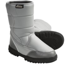 Itasca ComforTemp® Snow Boots (For Women) in Grey/White - Closeouts