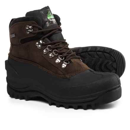 Itasca Granite Peak Pac Boots - Waterproof, Insulated (For Men) in Brown - Closeouts