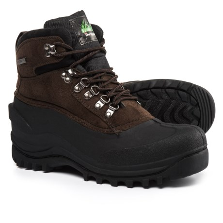 Itasca Granite Peak Pac Boots - Waterproof, Insulated (For Men) in Brown