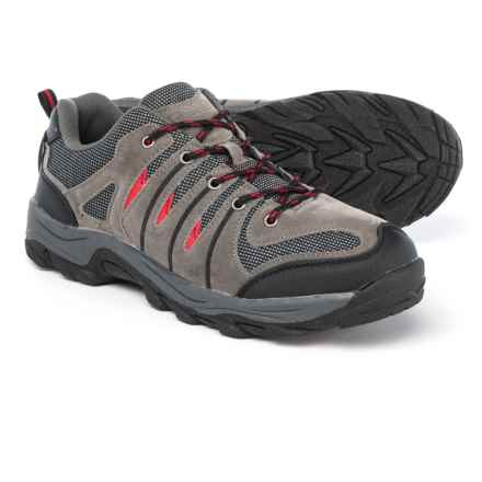 newest collection ae7e3 901d1 Itasca Highliner Hiking Shoes (For Men) in Grey Red - Closeouts