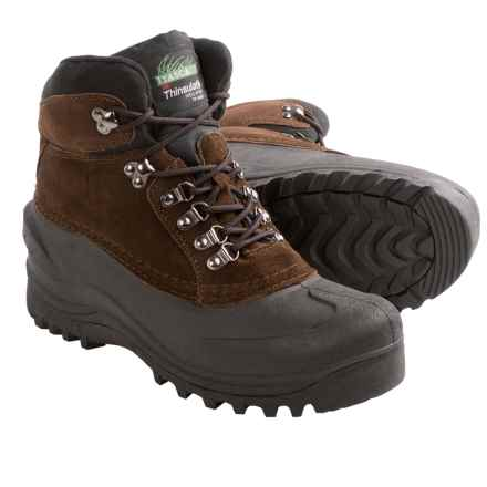 Itasca Icebreaker Snow Boots - Waterproof, Insulated (For Men) in Brown - Closeouts