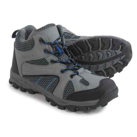 Itasca Jackson Hiking Shoes - Waterproof (For Little and Big Boys) in Grey - Closeouts