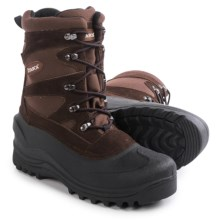 Itasca Ketchikan Pac Boots - Waterproof, Insulated (For Men) in Brown - Closeouts