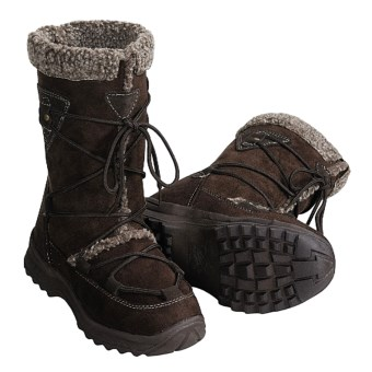 Itasca Molly Snow Boots (For Women) in Dark Brown