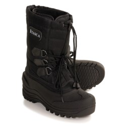 Itasca Mountaineer Pac Boots - Waterproof, Insulated (For Men) in Black