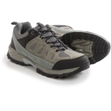 Itasca Nathaniel Hiking Shoes - Leather (For Men) in Grey - Closeouts