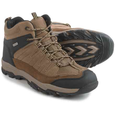 Itasca Nth Degree Mid Hiking Boots - Waterproof, Suede (For Men) in Brown - Closeouts