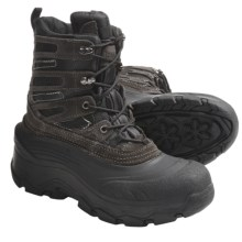 Itasca Powder Pass Winter Pac Boots - Waterproof, Insulated (For Men) in Black/Black - Closeouts