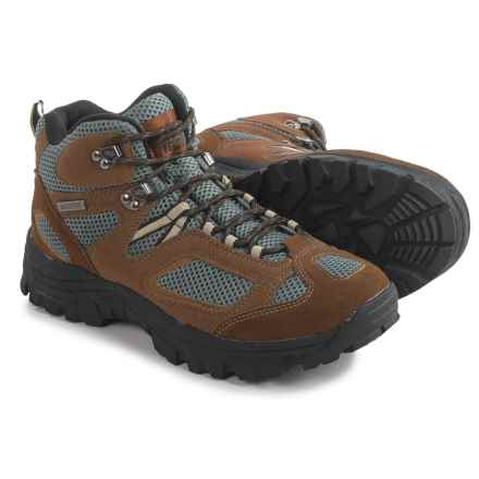 Itasca Ridgeway II Hiking Boots - Waterproof, Suede (For Men) in Brown - Closeouts