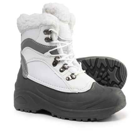 Itasca Sleigh Bell Waterproof 200g Thinsulate® Snow Boots - Waterproof, Insulated (For Women) in White - Closeouts