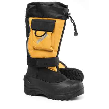 Itasca Snow Bound Pac Boots - Waterproof, Insulated (For Men) in Yellow - Closeouts
