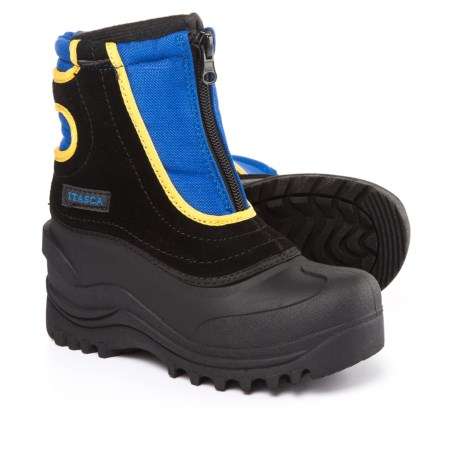 Itasca Snow Stomper II Pac Boots - Waterproof, Insulated (For Boys) in Royal