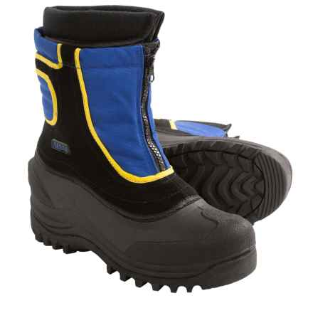 Itasca Snow Stomper Pac Boots - Insulated (For Little and Big Kids) in Royal - 2nds