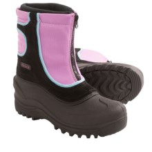Itasca Snow Stomper Snow Boots - Insulated (For Little and Big Kids) in Raspberry - 2nds