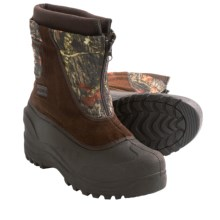 Itasca Snow Stomper Winter Boots - Insulated (For Boys and Girls) in Camo - Closeouts