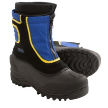 Itasca Snow Stomper Winter Boots - Insulated (For Boys and Girls) in Royal - Closeouts