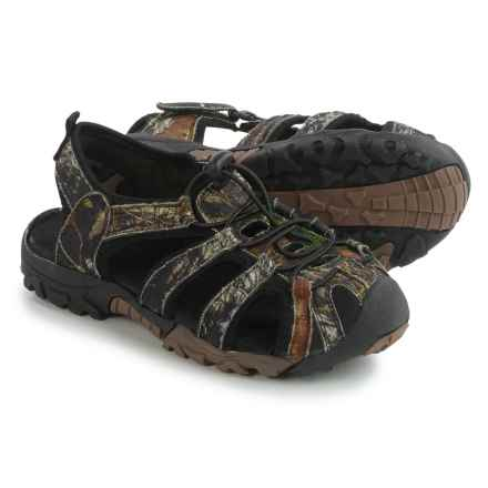 Itasca Spring Harbor Sandals (For Big Boys) in Camo - Closeouts