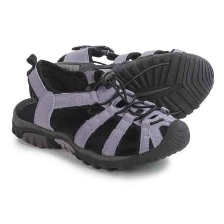 Itasca Spring Harbor Sandals (For Big Girls) in Lilac - Closeouts
