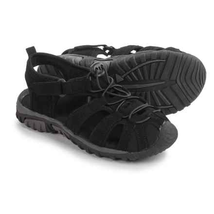 Itasca Spring Harbor Sandals (For Big Kids) in Black - Closeouts