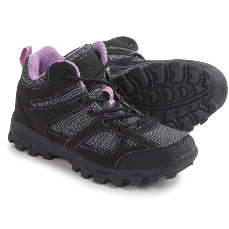 Itasca Stella Hiking Shoes (For Little and Big Kids) in Black