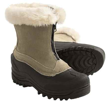 Itasca Tahoe Snow Boots - Waterproof, Insulated (For Women) in Buff - Closeouts