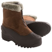 Itasca Tahoe Snow Boots - Waterproof, Insulated (For Women) in Chocolate - Closeouts