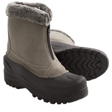 Itasca Tahoe Snow Boots - Waterproof, Insulated (For Women) in Grey - Closeouts