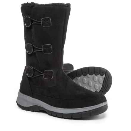 Itasca Tyra Snow Boots - Fleece Lined (For Women) in Black - Closeouts