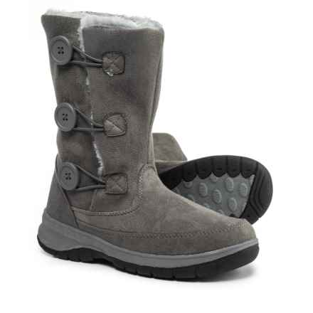 Itasca Tyra Snow Boots - Fleece Lined (For Women) in Grey - Closeouts