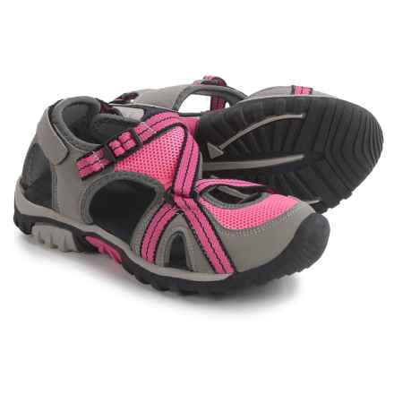 Itasca Windermere Sport Sandals (For Big Girls) in Pink - Closeouts