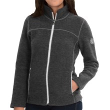 Ivanhoe Beata Jacket - Boiled Wool (For Women) in Graphite Marl - Closeouts