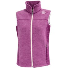 Ivanhoe Beata Vest - Boiled Wool (For Women) in Cerise - Closeouts