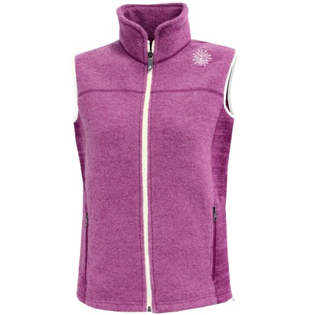 Ivanhoe Beata Vest - Boiled Wool (For Women) in Cerise