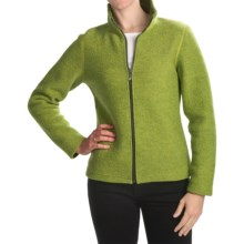Ivanhoe Brodal Classic Jacket - Boiled Wool (For Women) in Apple - Closeouts
