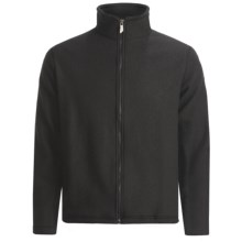 Ivanhoe Brodal Jacket - Boiled Wool (For Men) in Black - Closeouts