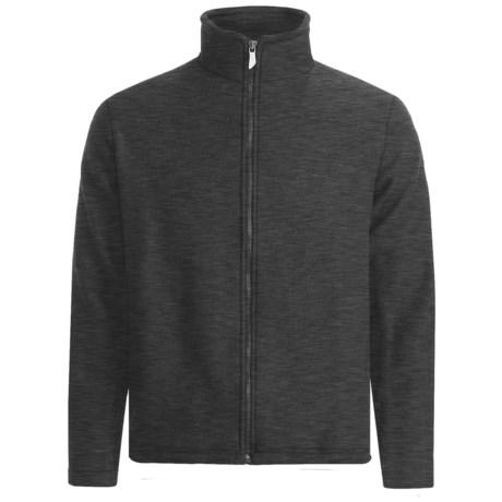Ivanhoe Brodal Jacket - Boiled Wool (For Men) in Graphite Marl