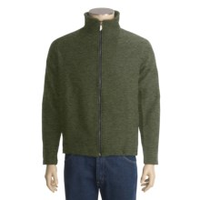 Ivanhoe Brodal Jacket - Boiled Wool (For Men) in Olive - Closeouts