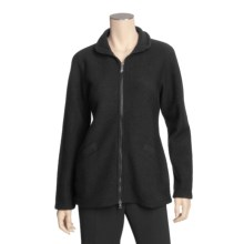 Ivanhoe Brodal Jacket - Boiled Wool (For Women) in Black - Closeouts