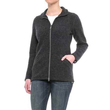 Ivanhoe Brodal Jacket - Boiled Wool (For Women) in Graphite Marl - Closeouts