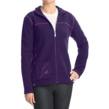 Ivanhoe Hope Jacket - Boiled Wool, Full Zip (For Women) in Grape - Closeouts