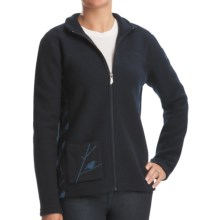 Ivanhoe Hope Jacket - Boiled Wool, Full Zip (For Women) in Navy - Closeouts