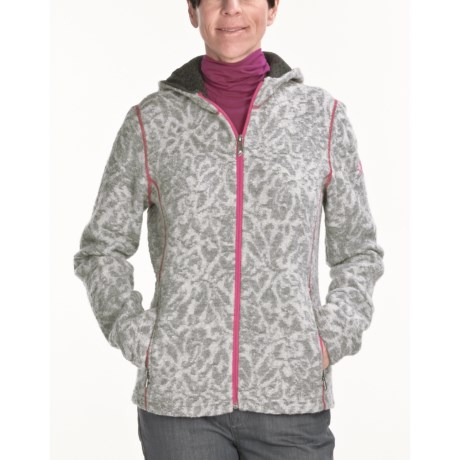 Ivanhoe Jill Jacquard Jacket - Boiled Wool (For Women) in Grey