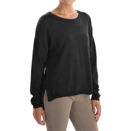 Ivanhoe of Sweden Alma Sweater - Merino Wool (For Women) in Black - Closeouts